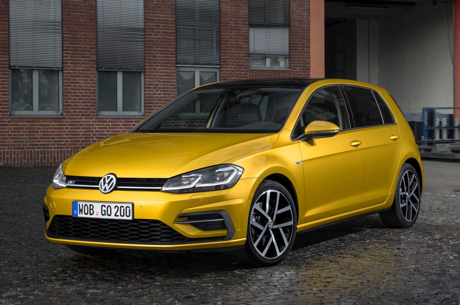 2017 Volkswagen Golf revealed - plus video