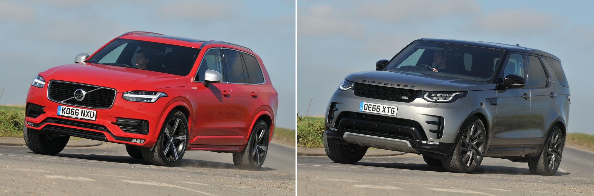 New Volvo XC90 vs used Land Rover Discovery: which is best?