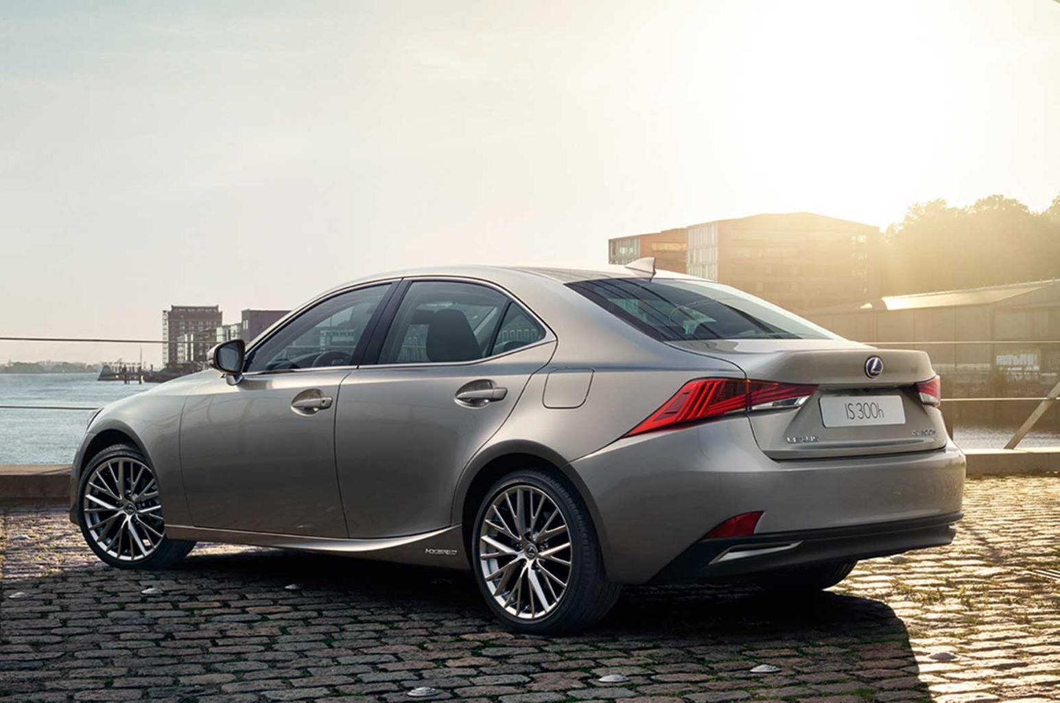 Facelifted Lexus IS revealed at Paris motor show