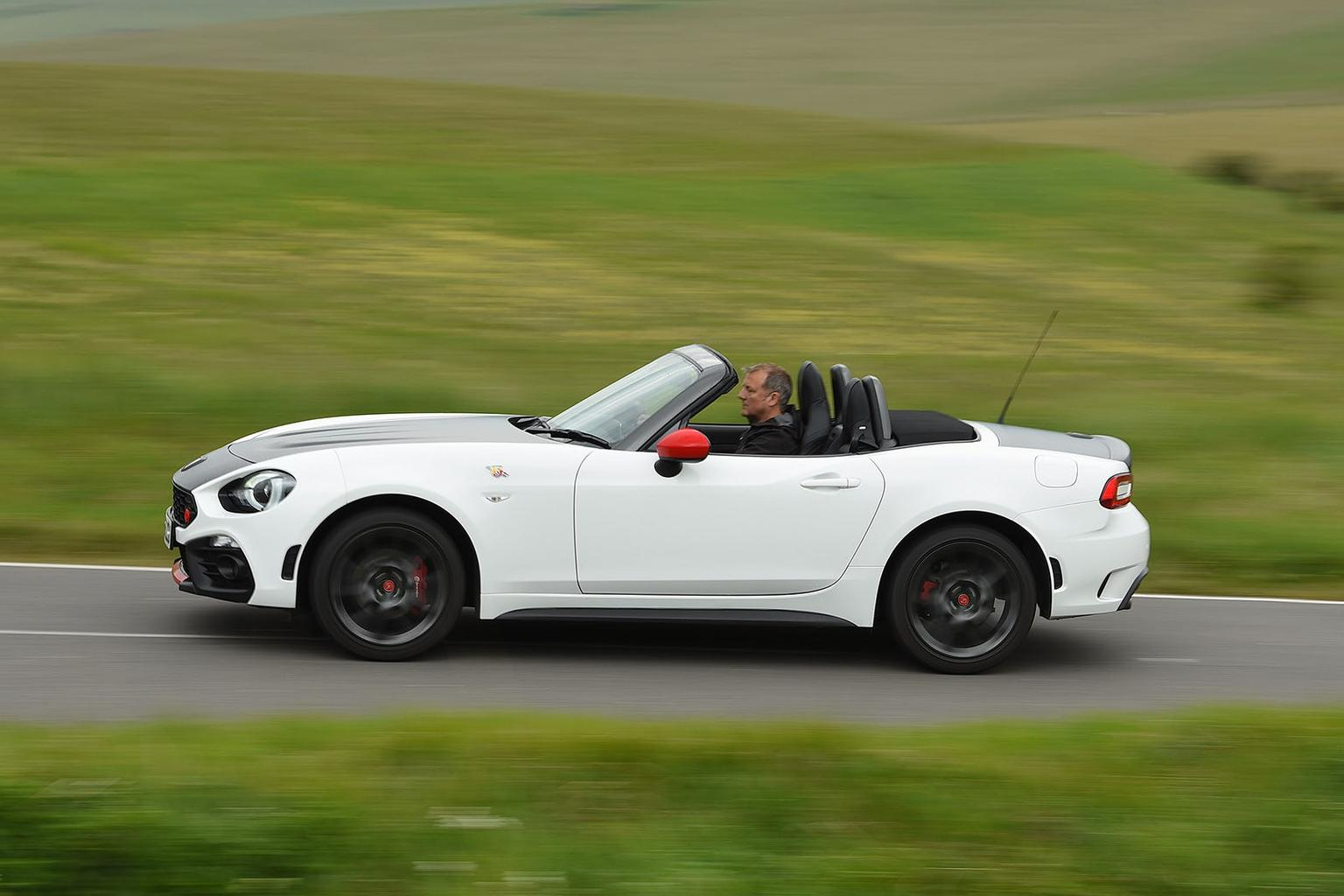 New Abarth 124 Spider vs Audi TT Roadster