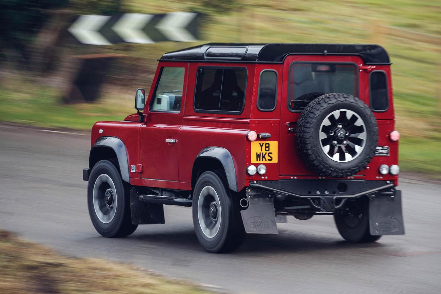 V8-engined Land Rover Defender to sell for £150,000