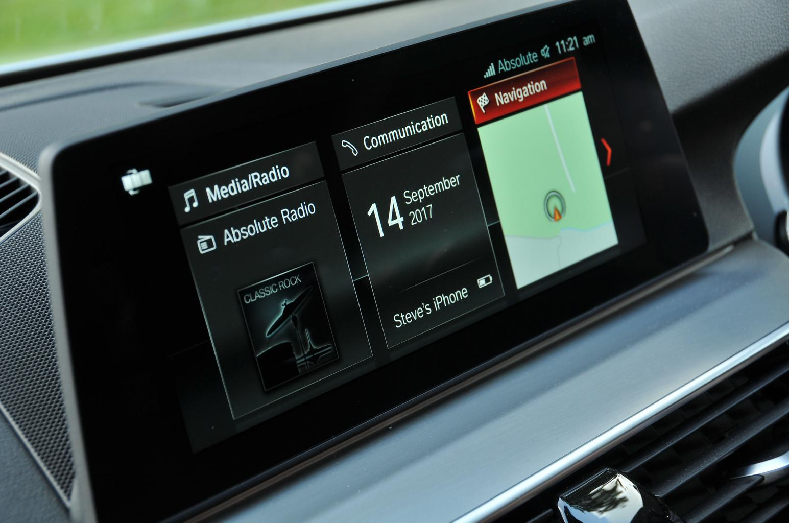 BMW 5 Series: Communication