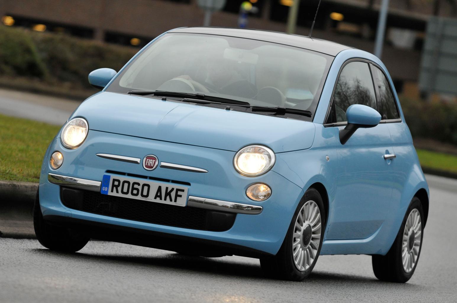 Used Fiat 500 vs Honda Jazz vs Mini One vs Volkswagen Polo