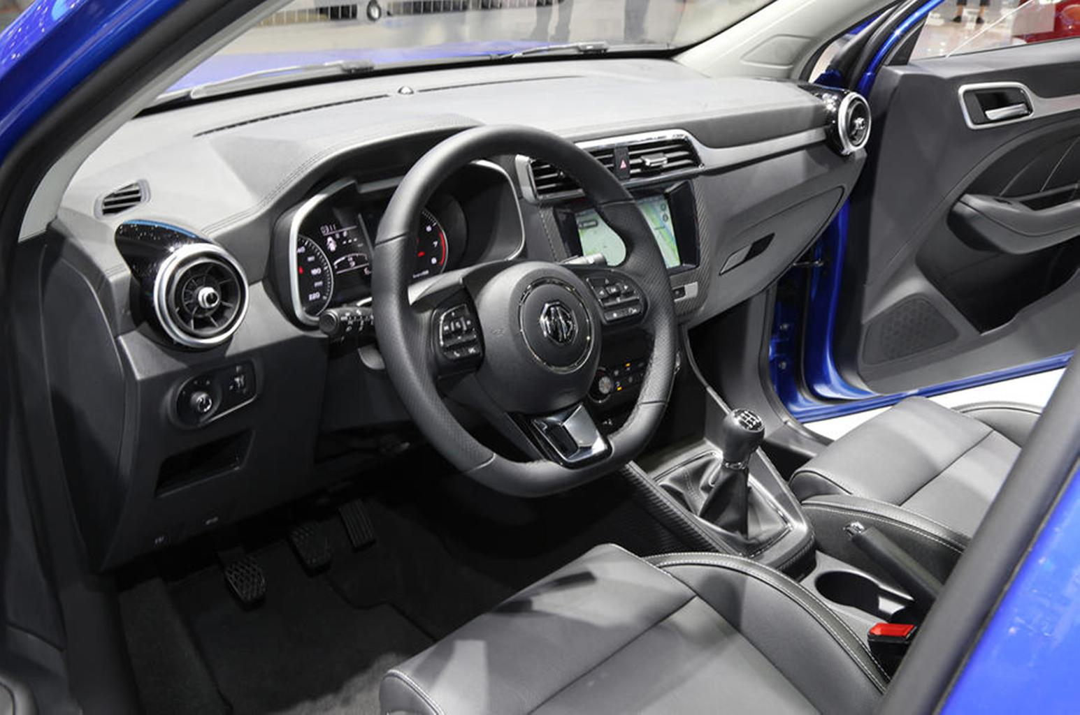 New MG XS SUV revealed