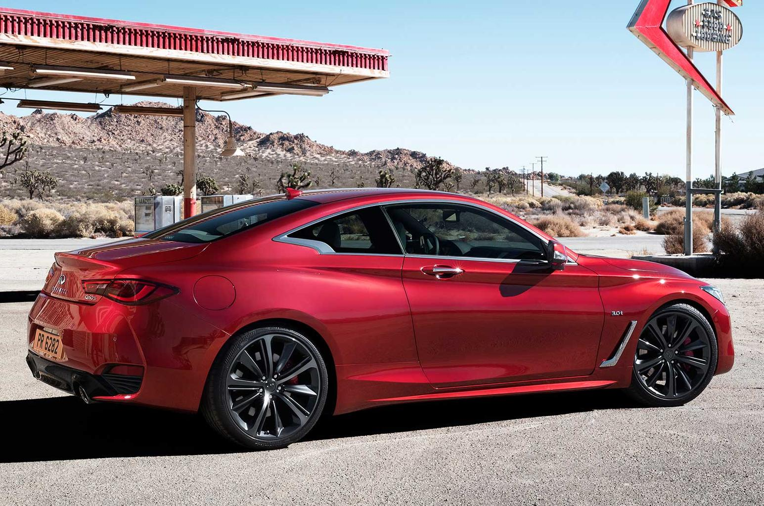 2016 Infiniti Q60 to be priced from £33,990