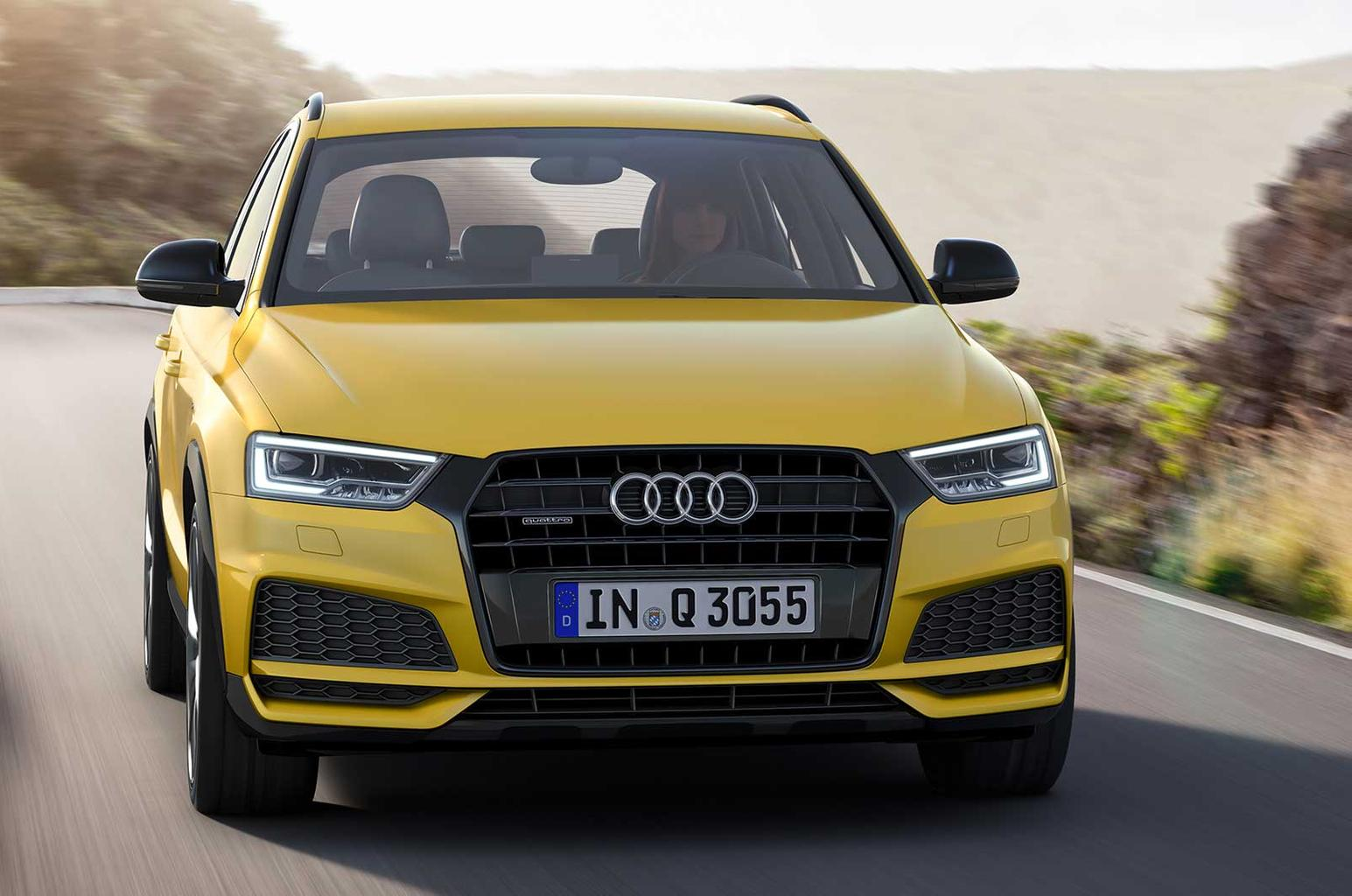 Audi Q3 range refreshed for 2017