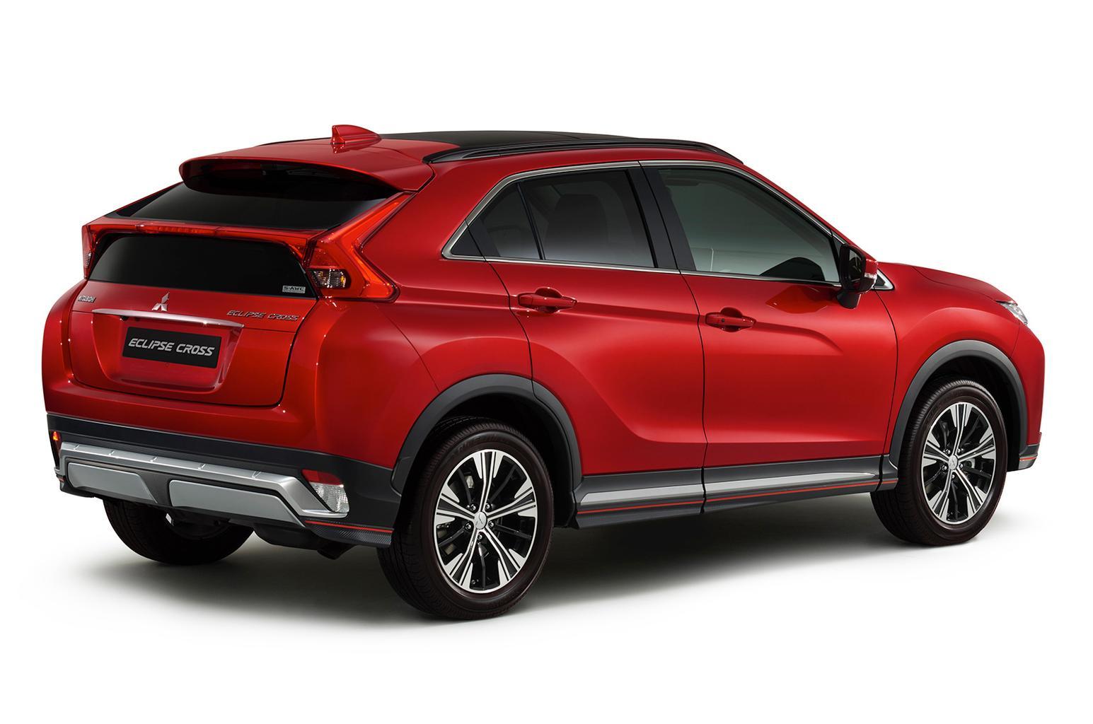 New Mitsubishi Eclipse Cross to take on Nissan Qashqai
