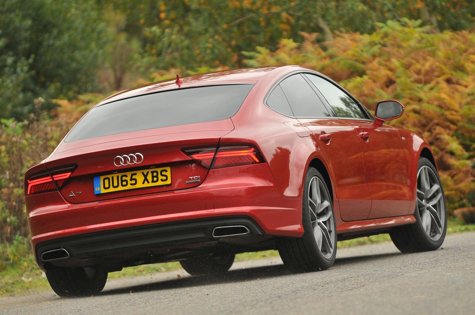 Audi A7 Sportback vs BMW 5 Series vs Jaguar XF