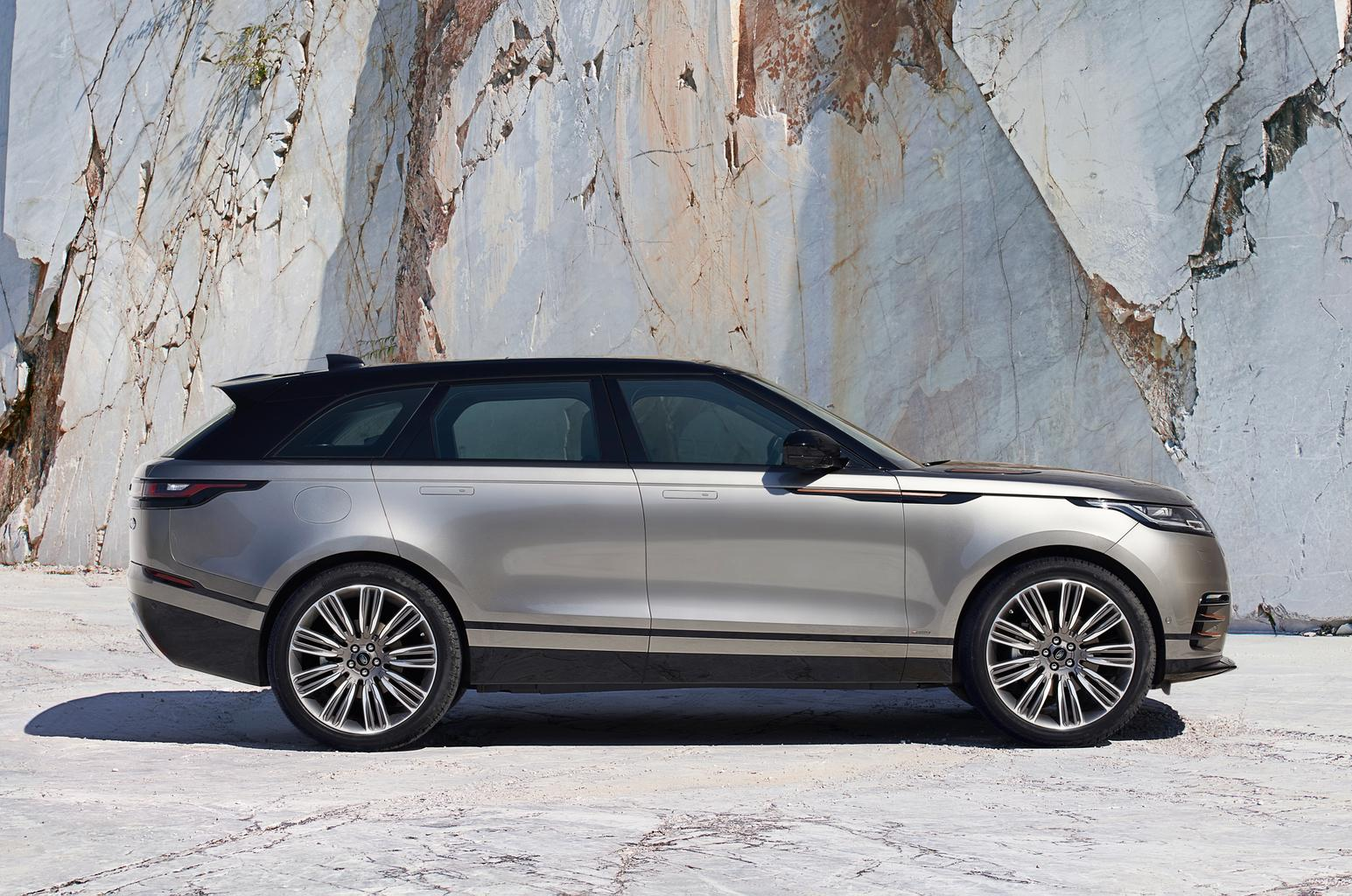 Range Rover Velar engines and equipment