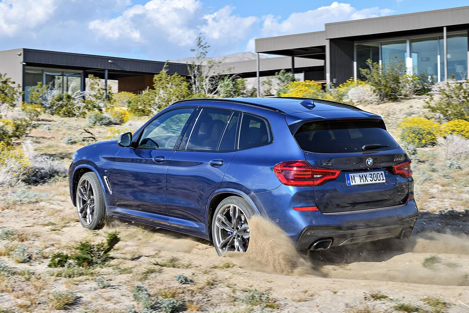 New BMW X3 revealed