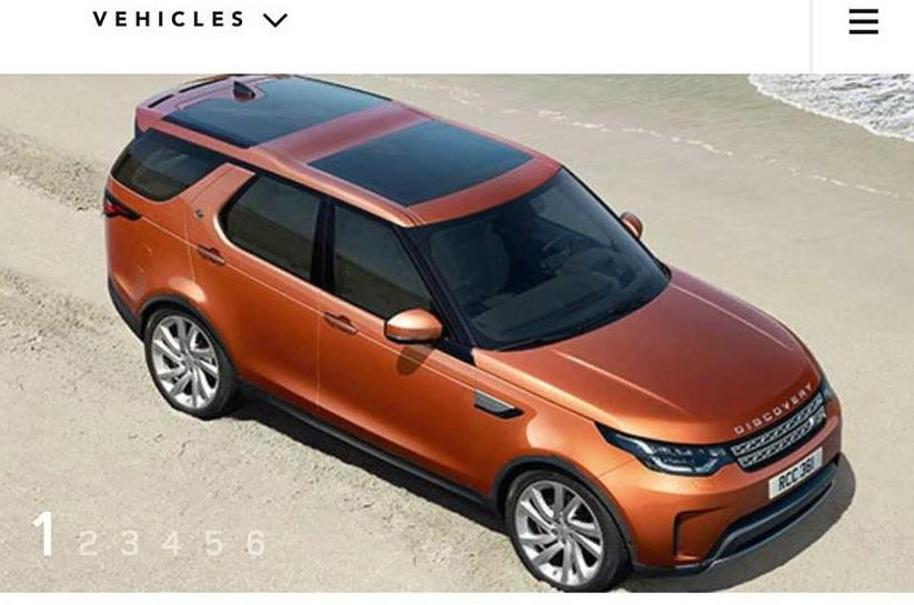 2017 Land Rover Discovery previewed ahead of Paris motor show