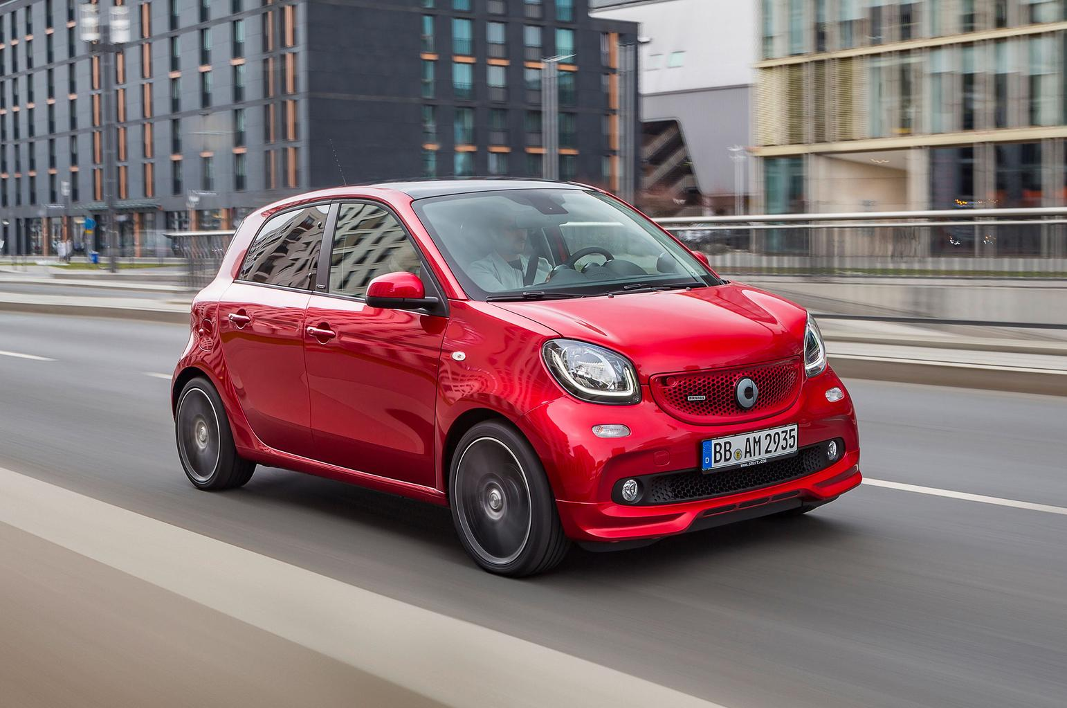 Smart Fortwo and Forfour Brabus models revealed