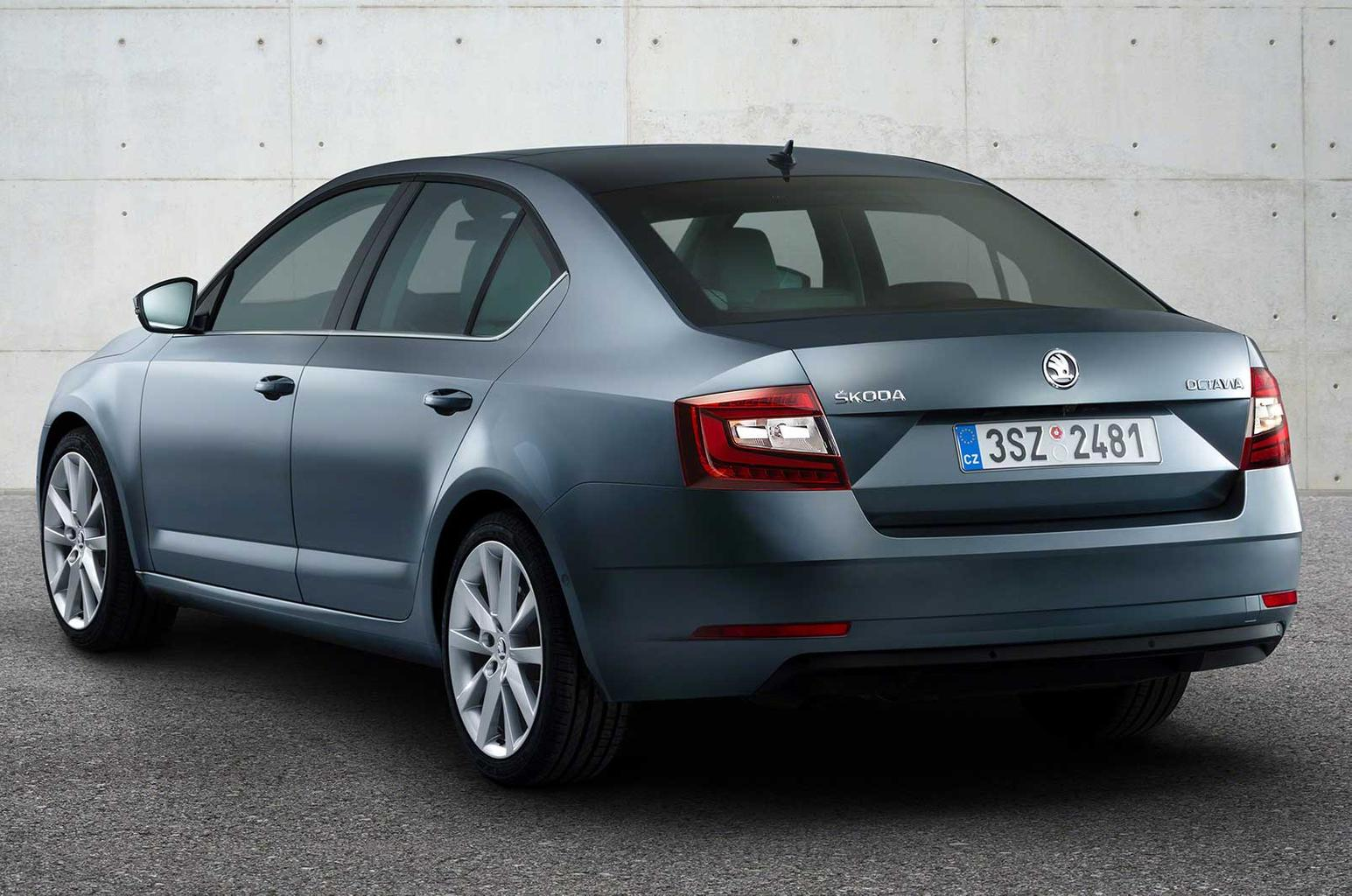 Skoda Octavia facelift revealed