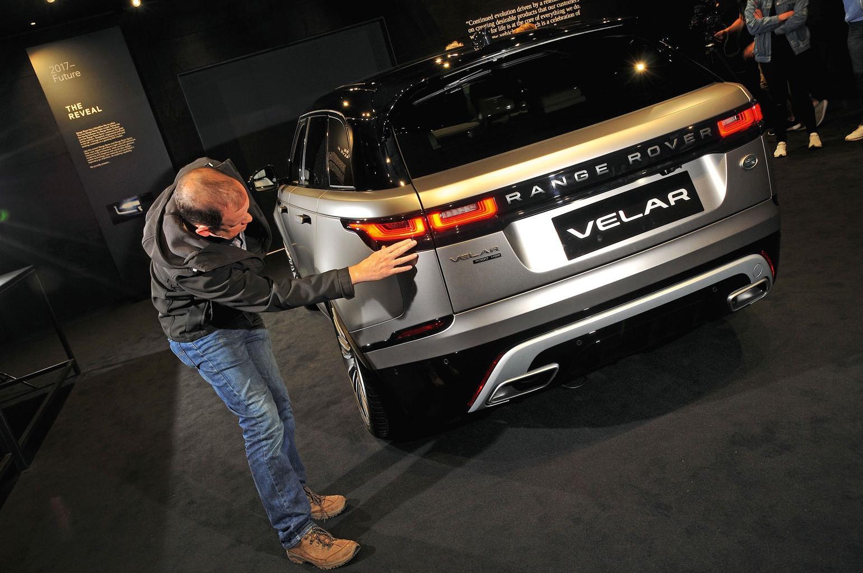2017 Range Rover Velar reader test team review