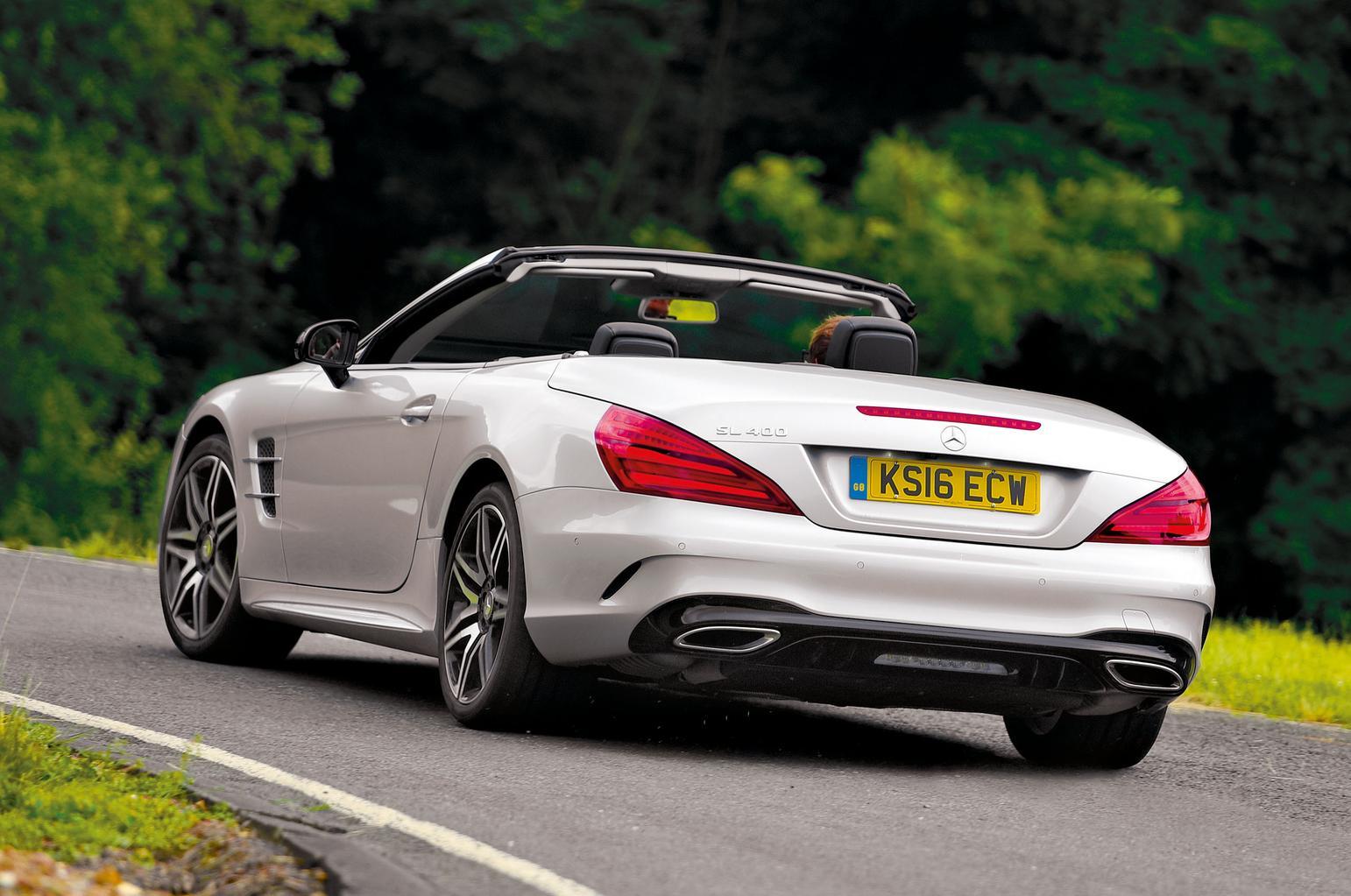 New Mercedes SL vs Jaguar F-Type