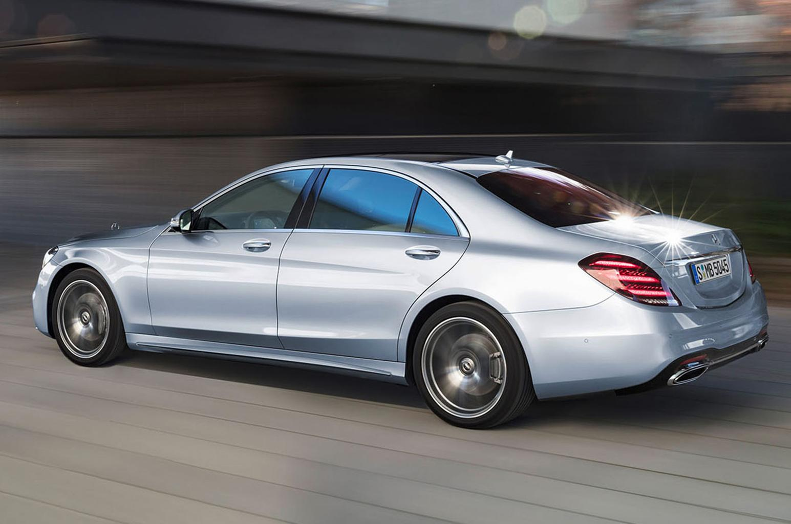 Facelifted Mercedes S-Class unveiled with new self-driving tech