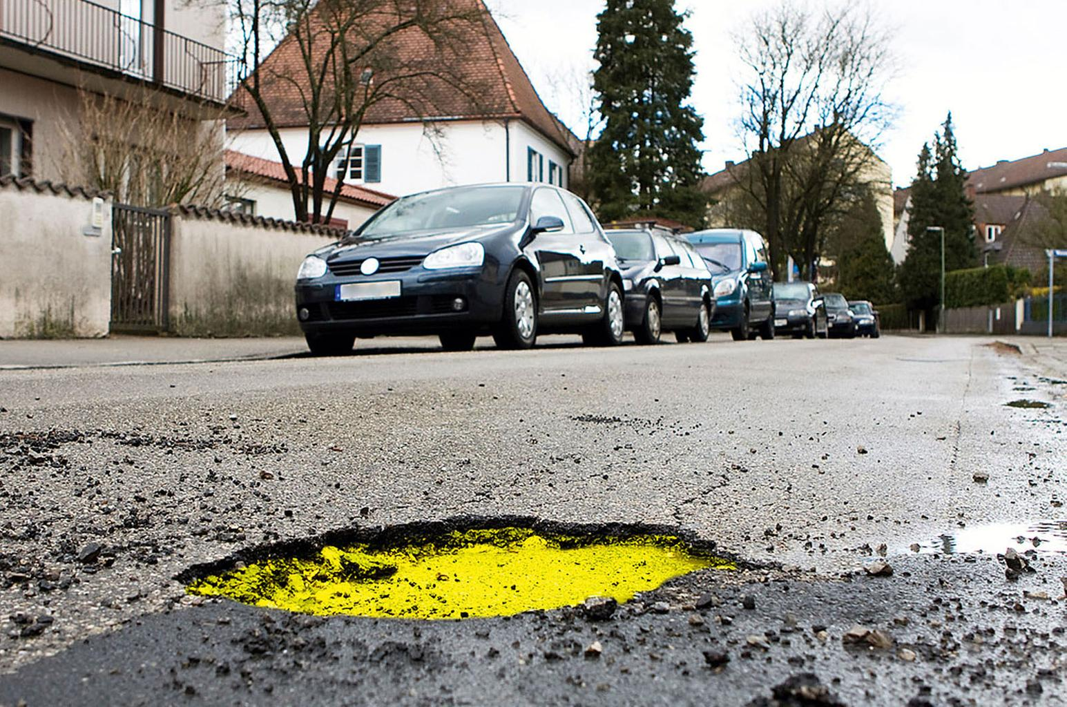 UK's pothole-blighted roads will cost more than £9 billion to repair