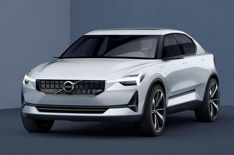 Volvo XC40 concept car revealed