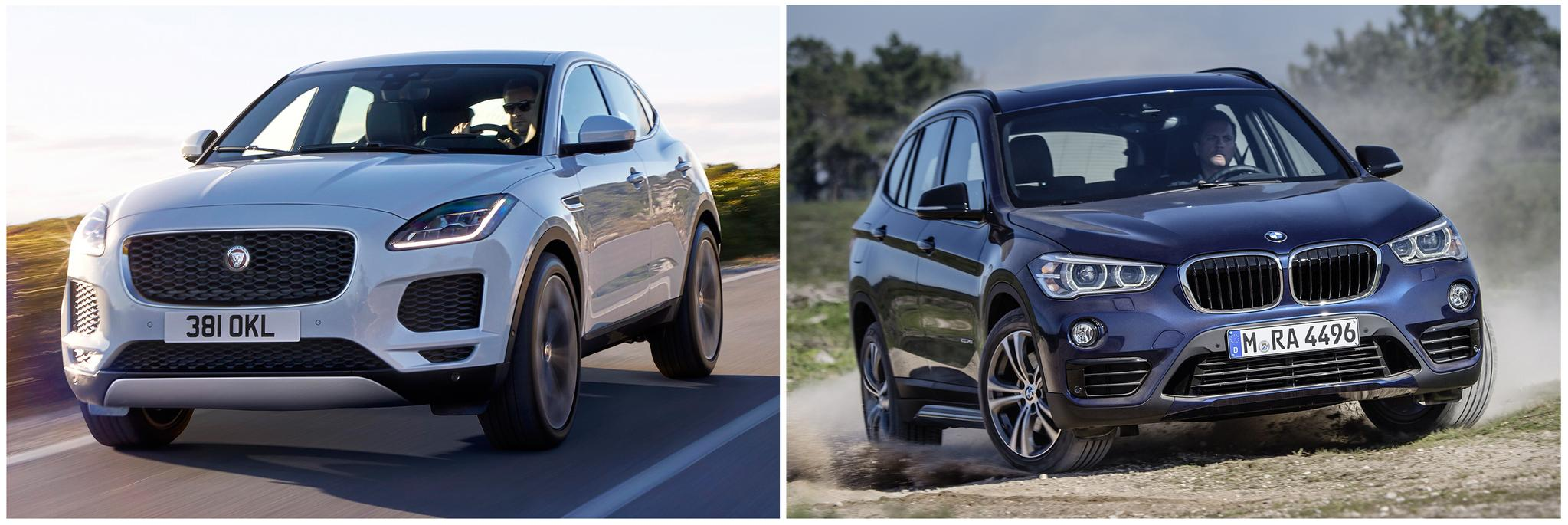 New Jaguar E-Pace vs BMW X1