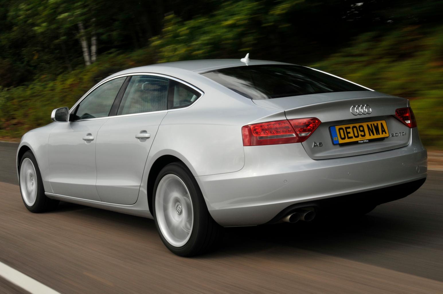 Used test: Audi A5 Sportback vs BMW 3 Series vs Mercedes C-class vs Volkswagen Passat CC