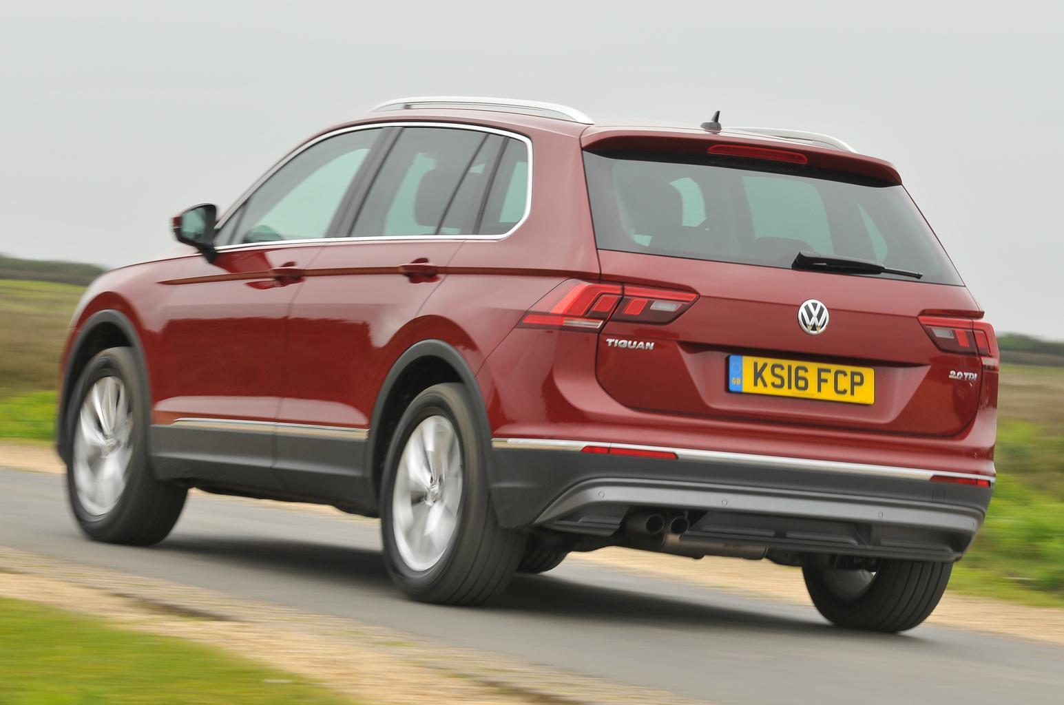 New Volkswagen Tiguan vs BMW X1 vs Mazda CX-5