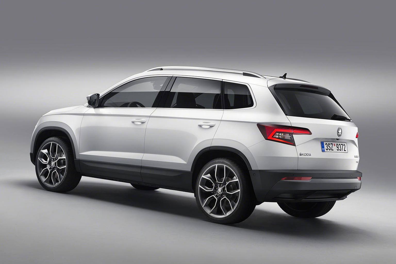 New Skoda Karoq in pictures