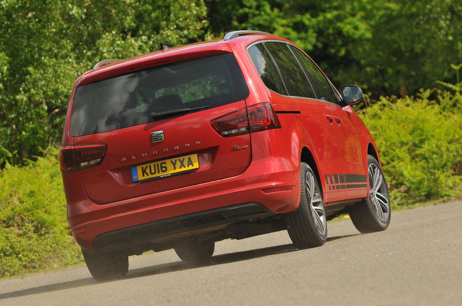 2016 Seat Alhambra 2.0 TDI FR Line review