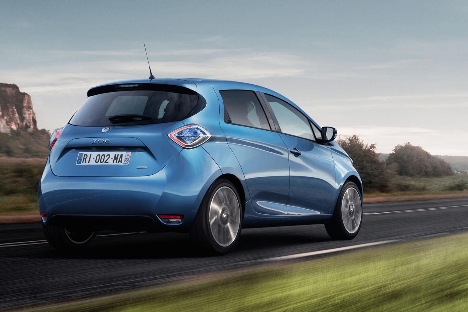 Upgraded Renault Zoe gets more range