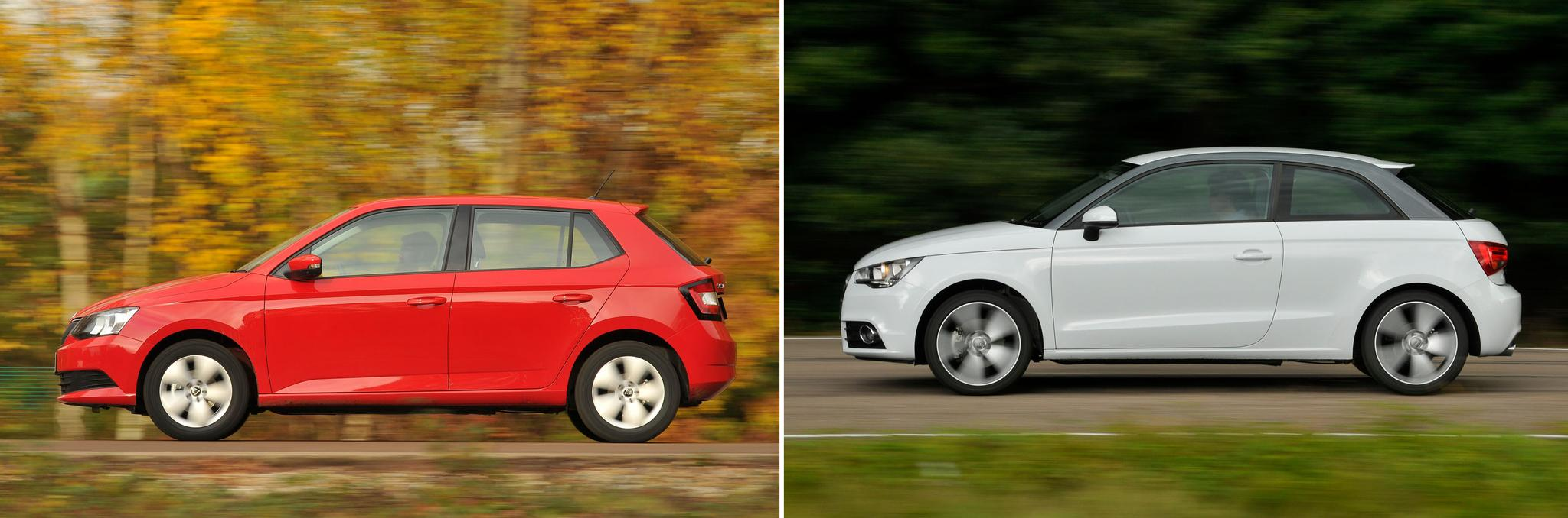 New Skoda Fabia vs used Audi A1: which is best?