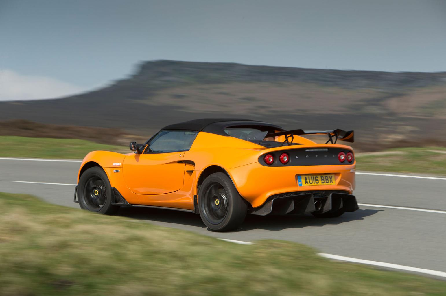 2016 Lotus Elise Cup 250 review