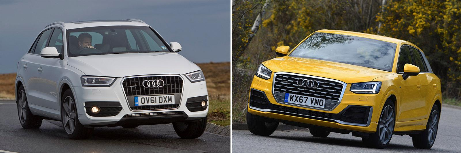 New Audi Q2 vs used Audi Q3: which is best?