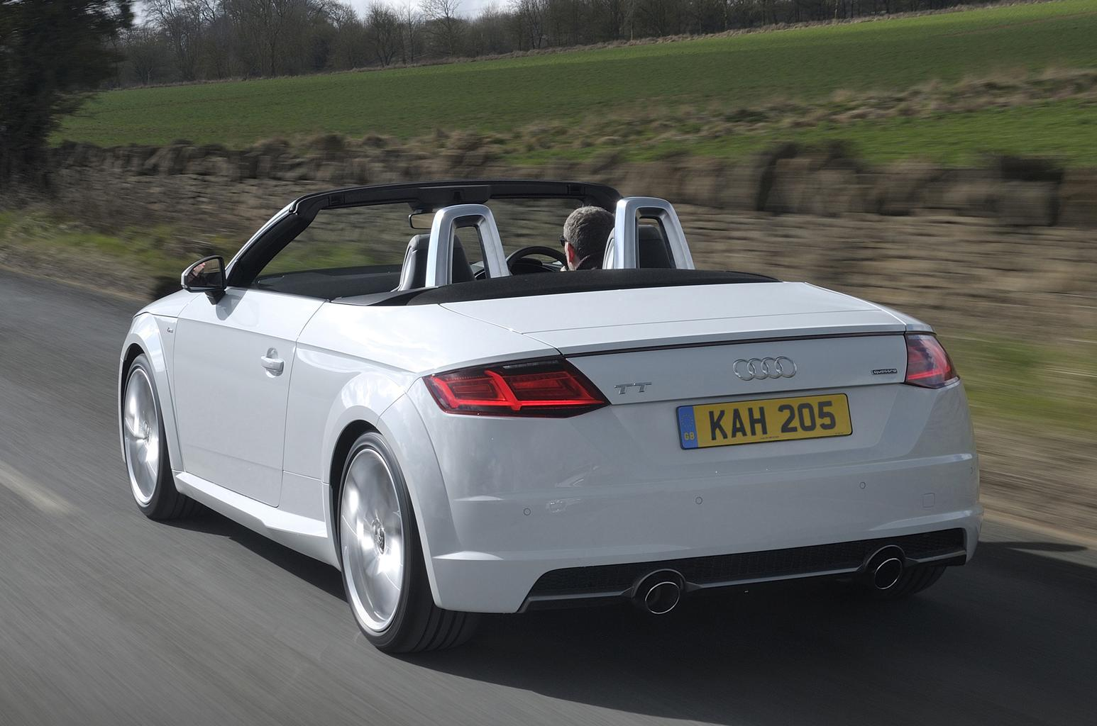 2016 Audi TT Roadster 1.8 TFSI review