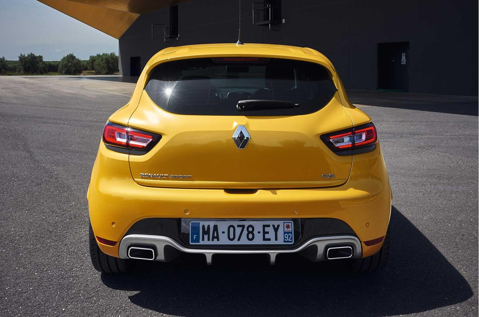 Updated Renault Clio RS revealed