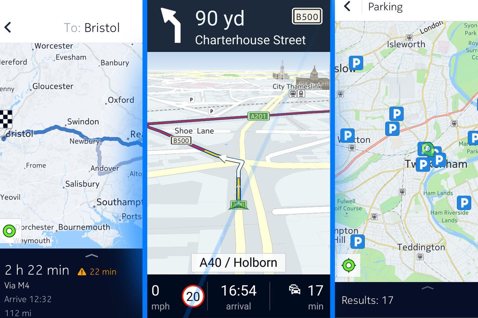 What's the best free sat-nav app for smartphones?
