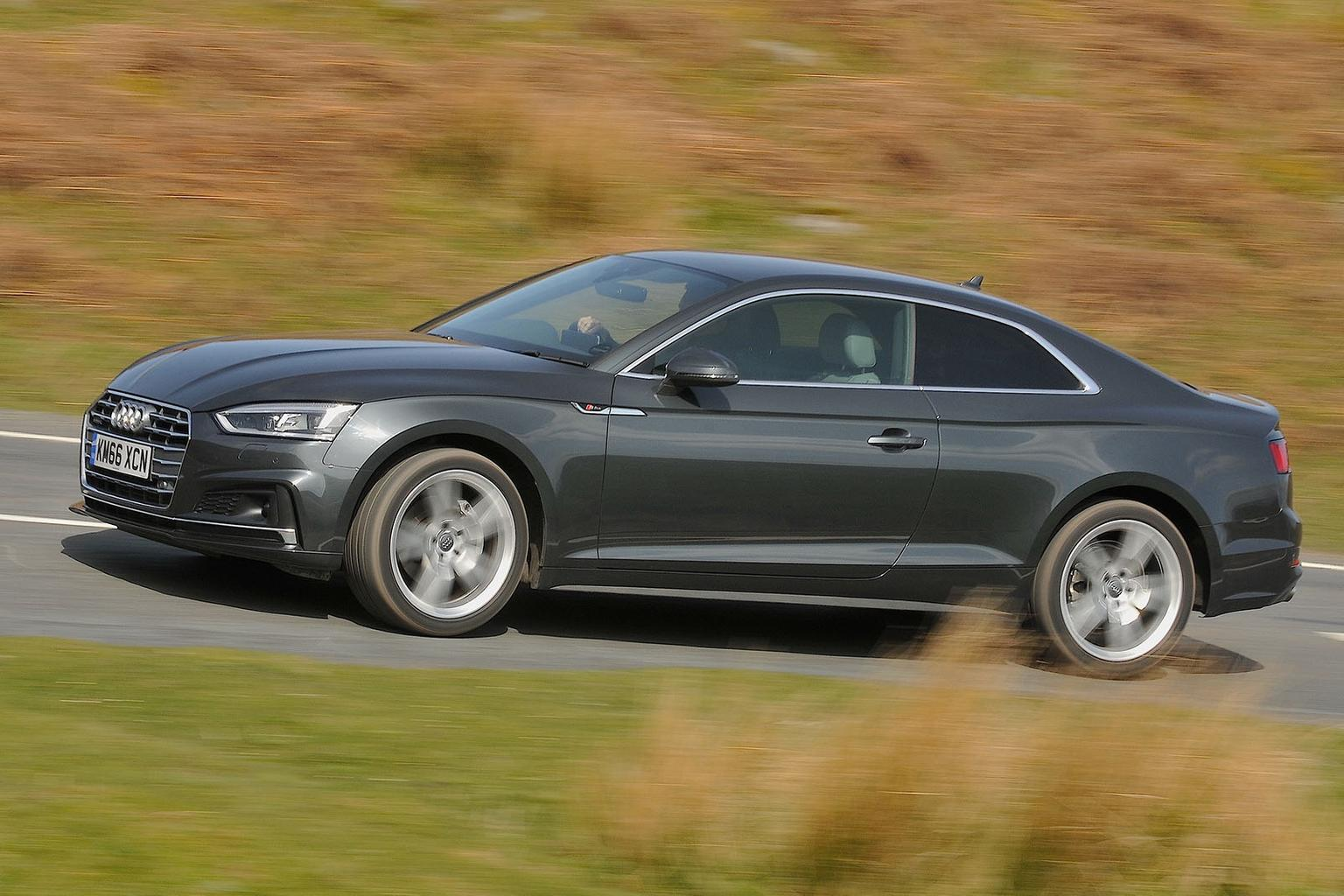 New Audi A5 Coupe vs new Mercedes E-Class Coupe