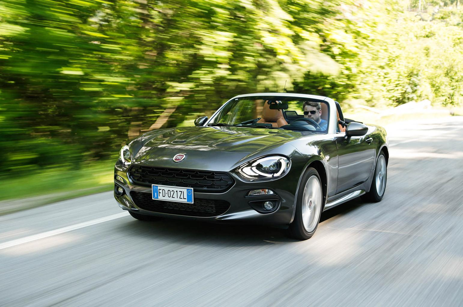 2016 Fiat 124 Spider review