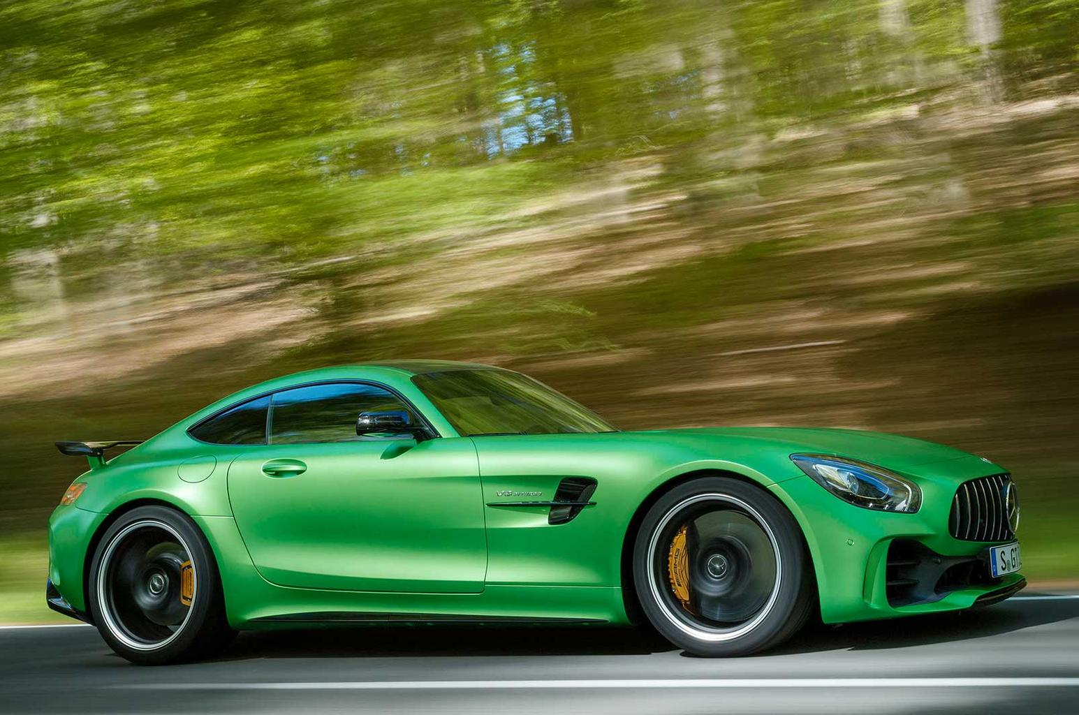 New Mercedes-AMG GT R revealed