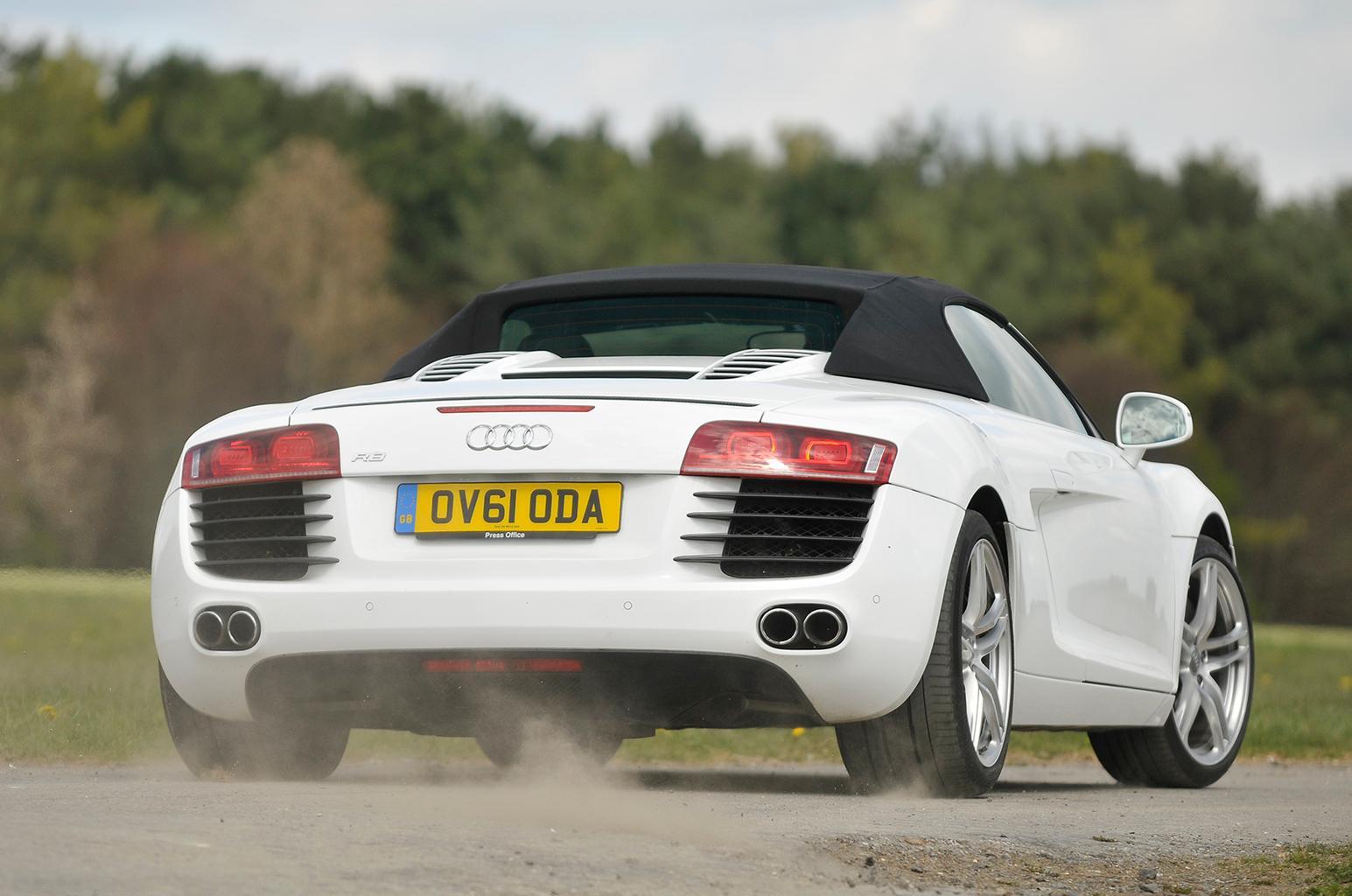 Used Audi R8 Spyder vs Porsche 911 Cabriolet