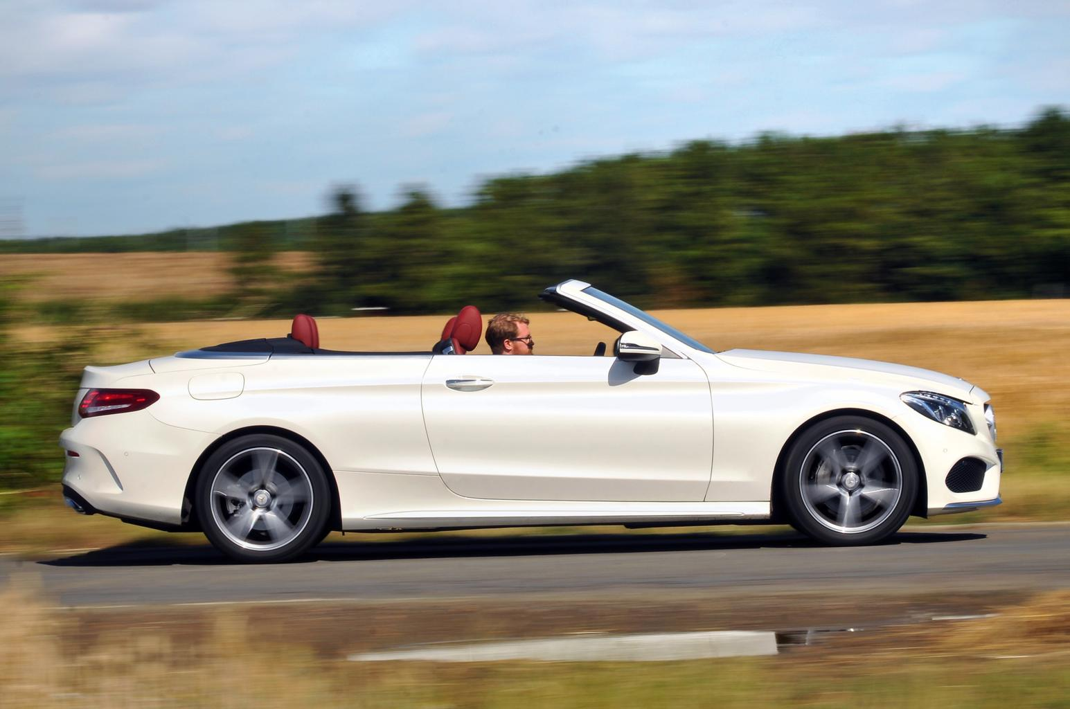 New Range Rover Evoque Convertible vs Mercedes C-Class Cabriolet