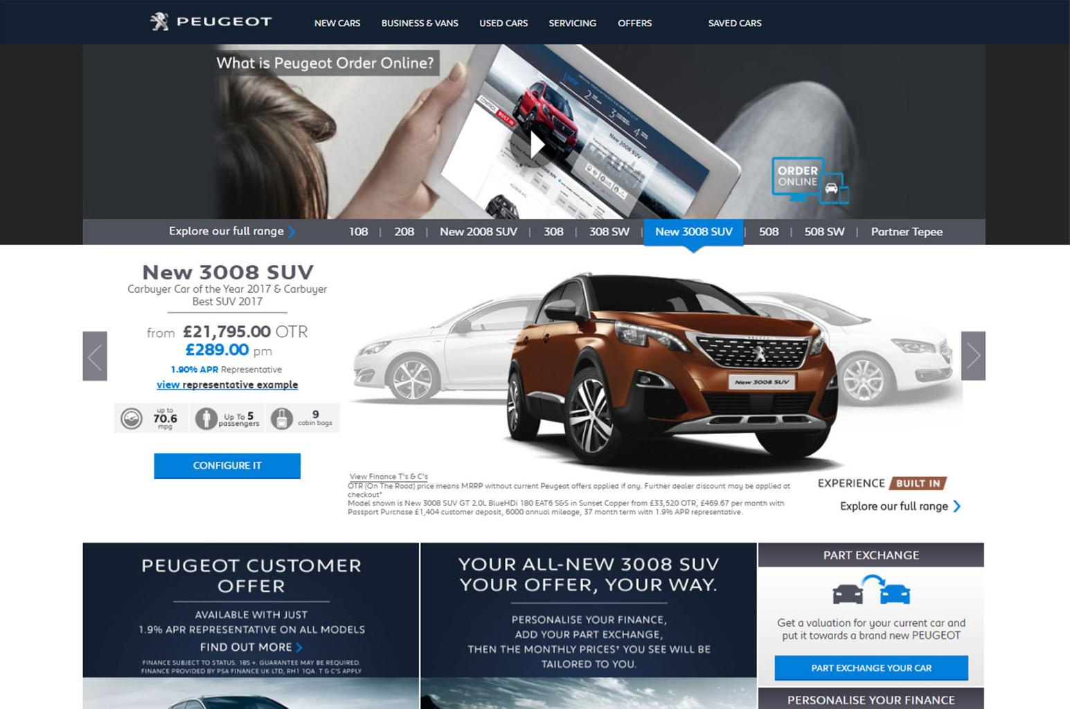 Online is the latest way to buy a new car