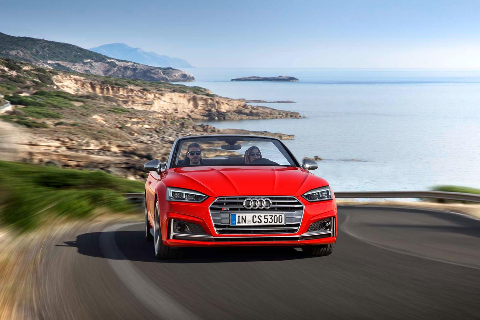 Audi A5 and S5 Cabriolets revealed