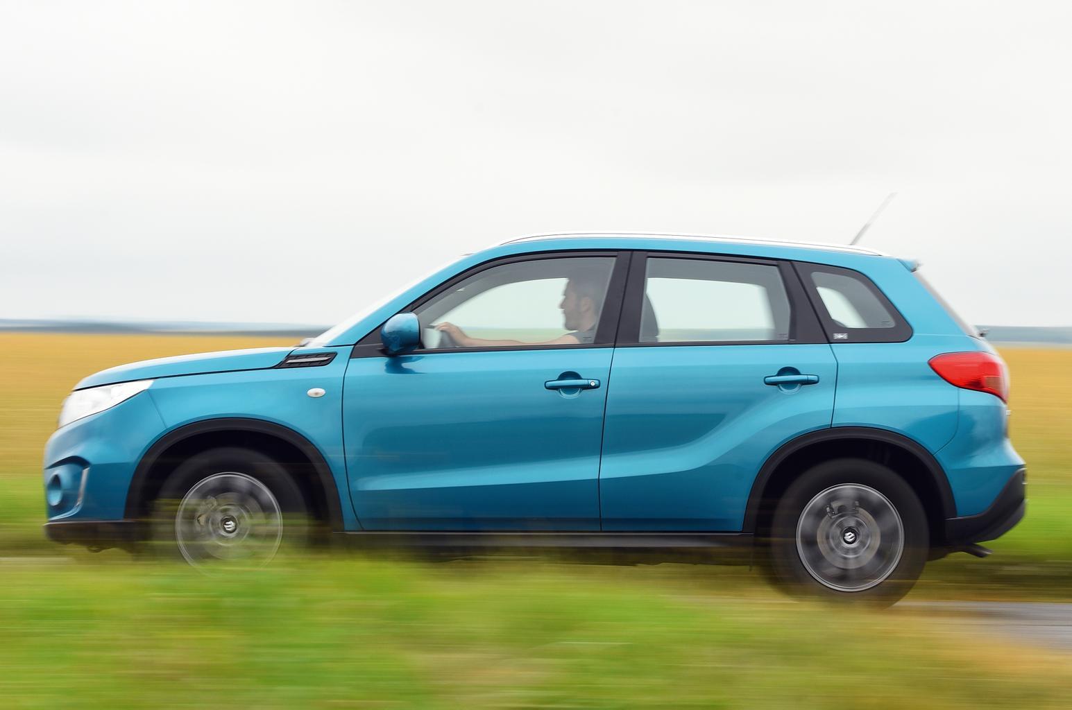 MG GS vs Suzuki Vitara