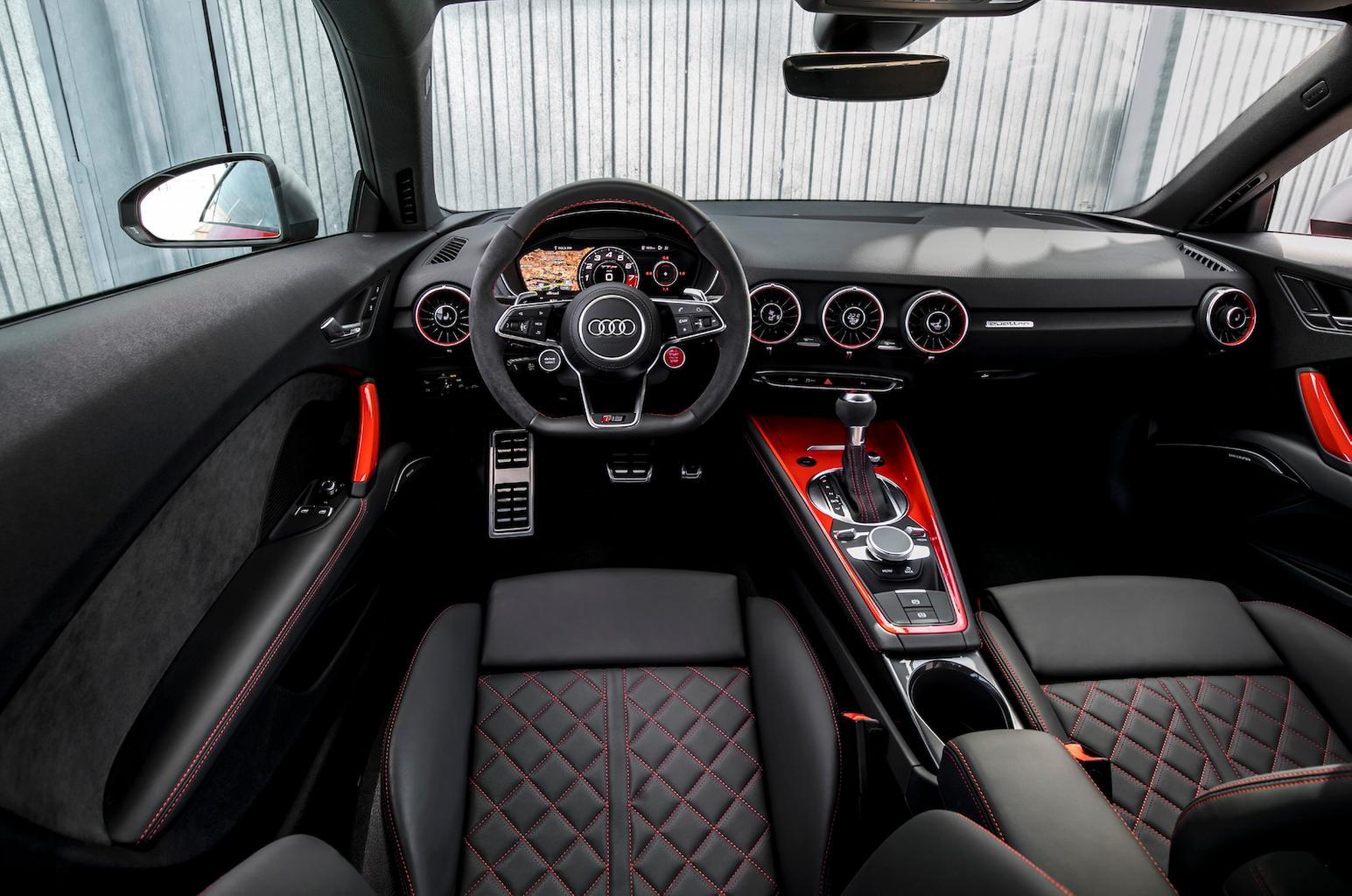 2016 Audi TT RS Coupé review