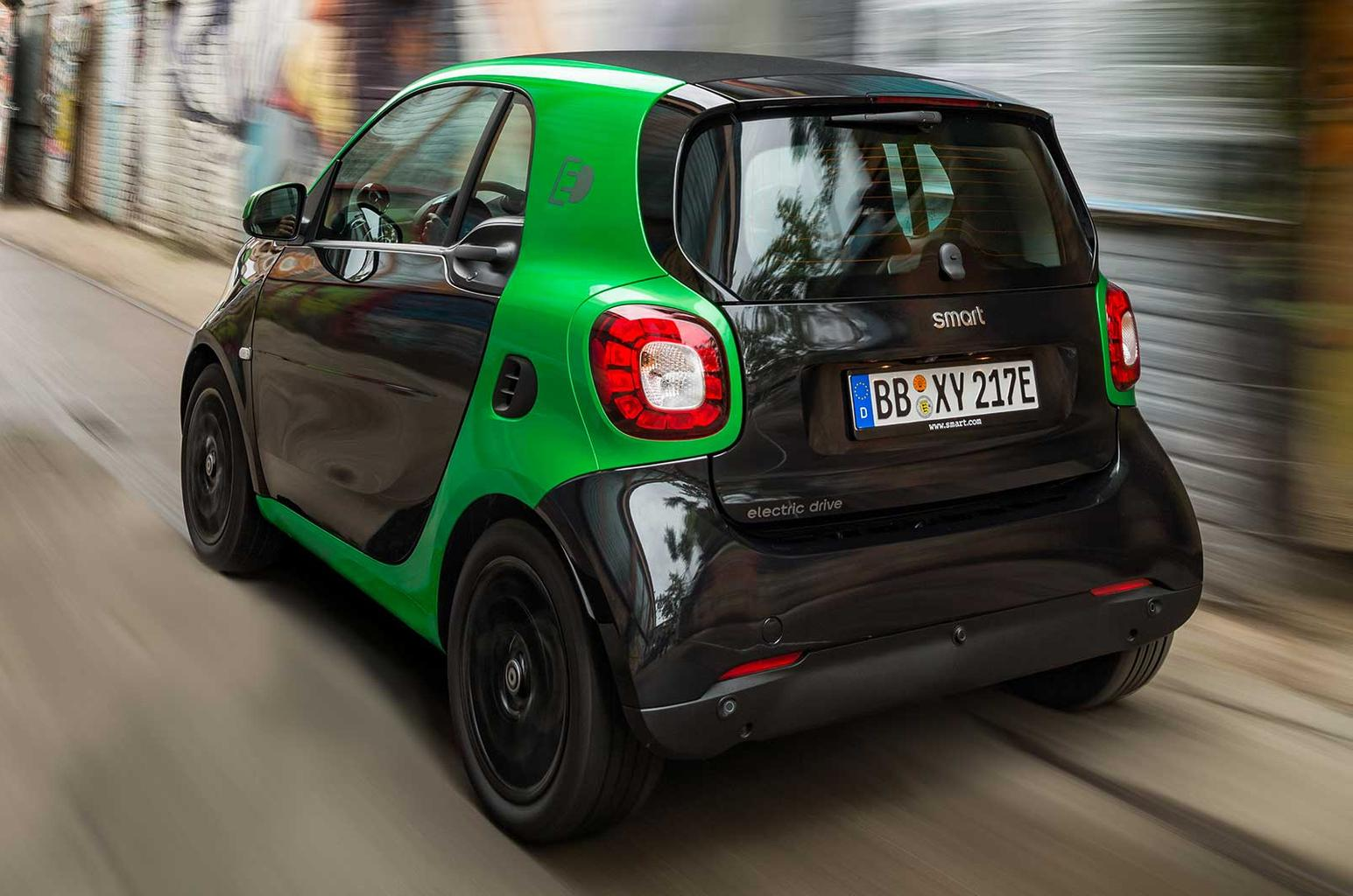 Electric Smart Fortwo and Forfour revealed