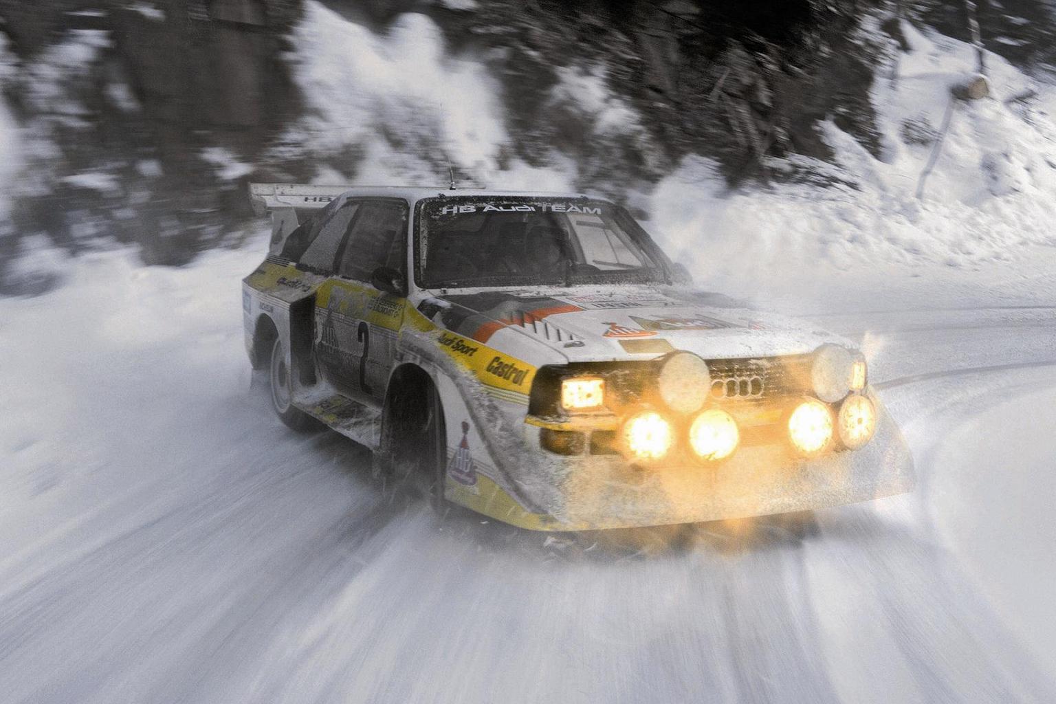 Audi Quattro – Rewind Wednesday