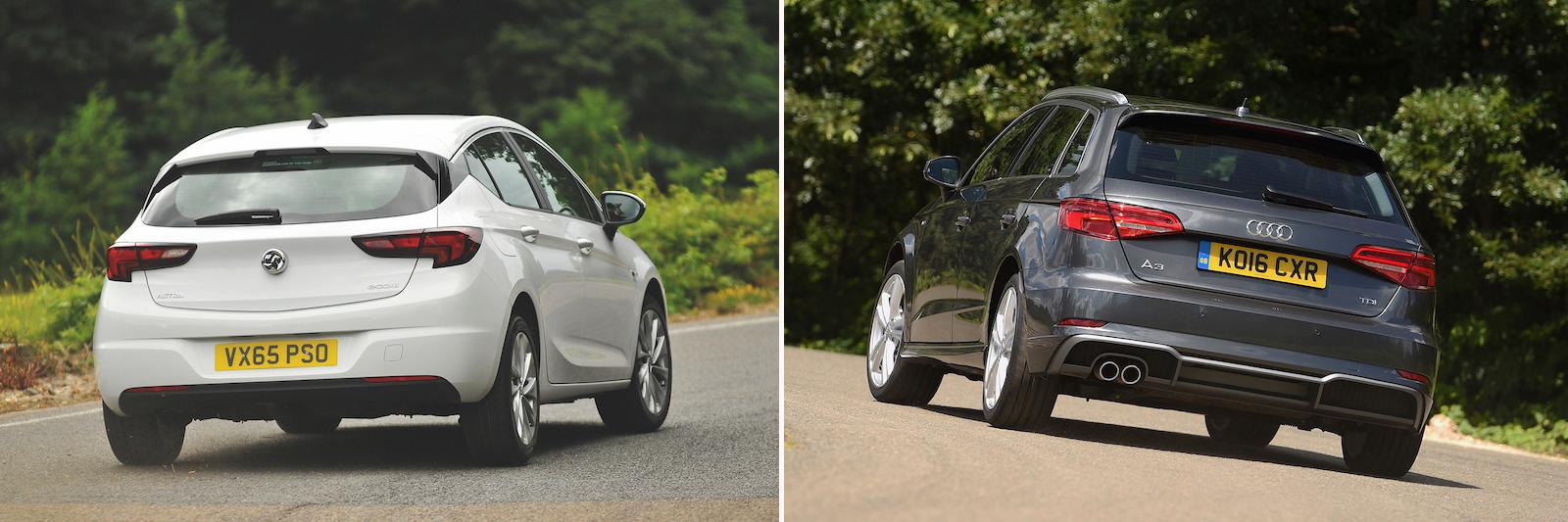 New Vauxhall Astra vs used Audi A3: which is best?
