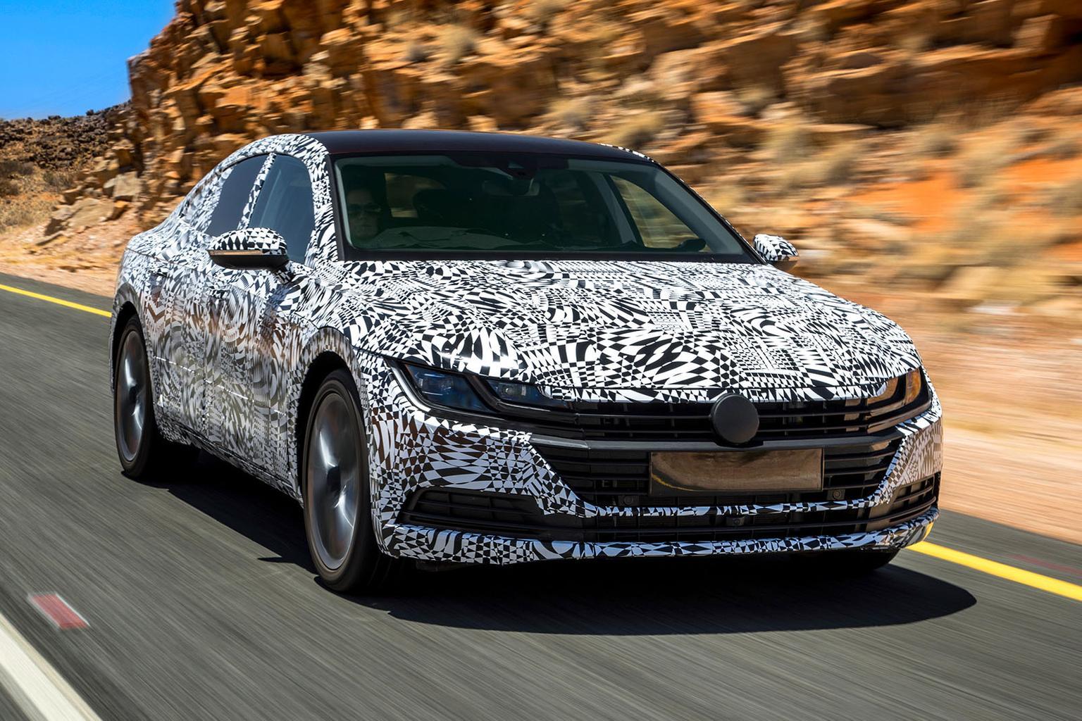 2017 Volkswagen Arteon prototype review