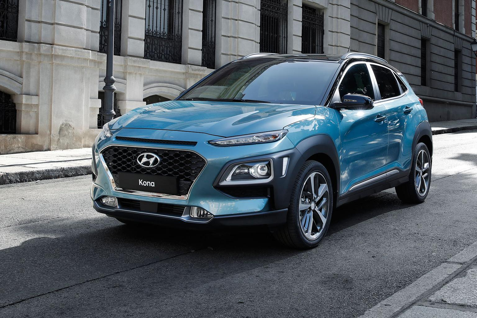 New Hyundai Kona in pictures