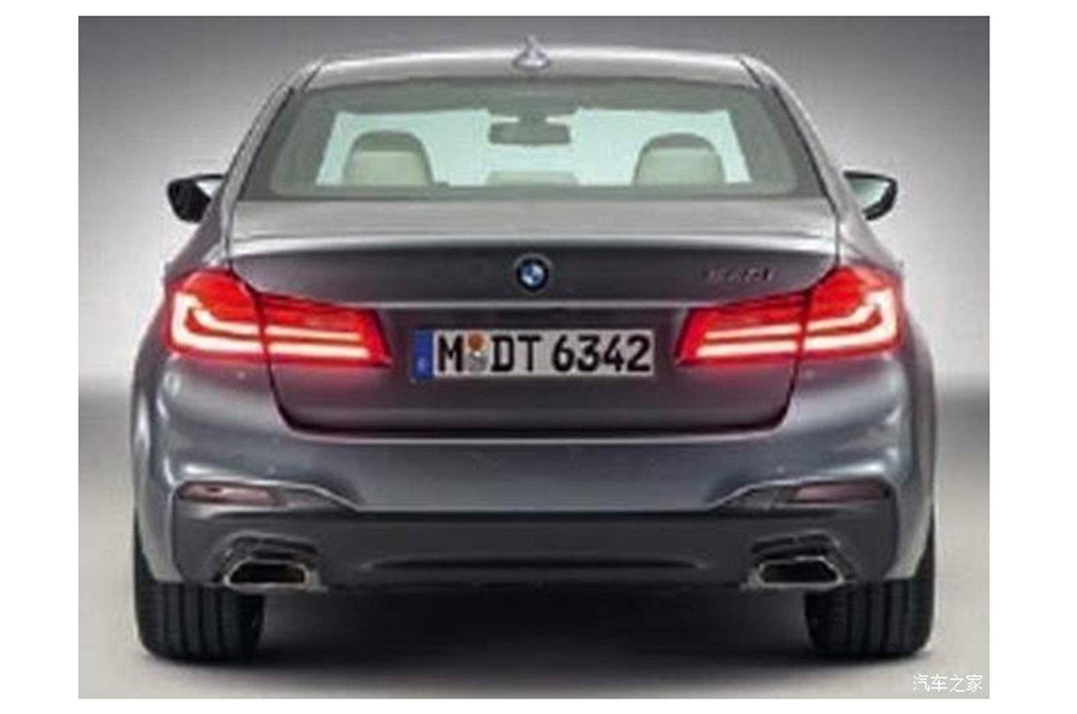 2017 BMW 5 Series revealed in leaked pictures