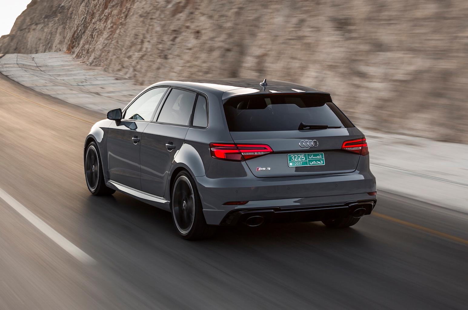 New Audi RS3 Sportback 2017 review